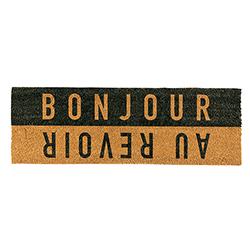 Door Mat - Bonjour Au Revoir