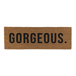 Door Mat - Gorgeous
