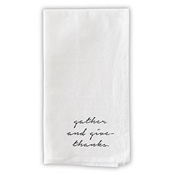 Face to Face Dinner Napkin Set - Gather And Give Thanks