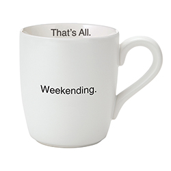 That's All® Mug - Weekending Pink