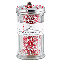 Sugar Jar Bakers Twine - Red + White