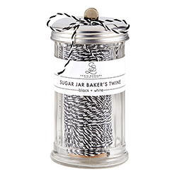 Sugar Jar Bakers Twine - Black and White