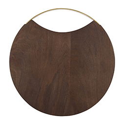 Wood + Brass Board - 12
