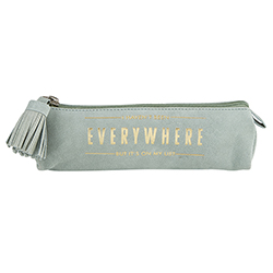 Suede Leather Pouch - Everywhere