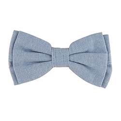 Pet Bow Ties - Chambray