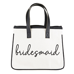 Mini Canvas Tote - Bridesmaid