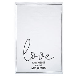 Tea Towel - Love and Kisses