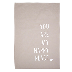 Tea Towel - Happy Place