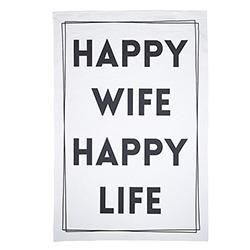 Tea Towel - Happy Wife
