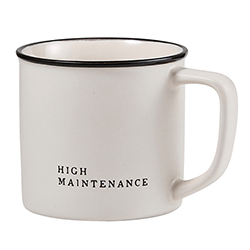Face to Face Coffee Mug - High Maintenance