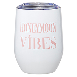 12oz Wine Tumbler - Honeymoon Vibes
