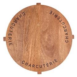 Charcuterie Pedestal Cheese Board