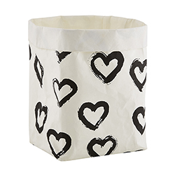 Washable Paper Holder - Large - Hearts