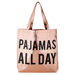 Rose Gold Tote - Pajamas All Day