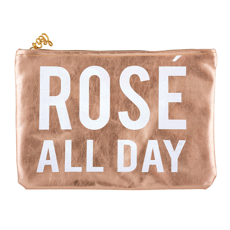 Rose Gold Pouch - Rosé All Day
