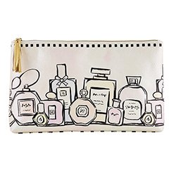 Oil Cloth Bag - Perfume Bottles