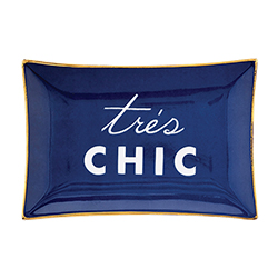 Trinket Tray - Tres Chic