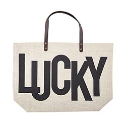 Jute Bag - LUCKY