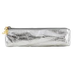 Glasses/Pen Case - Metallic Silver