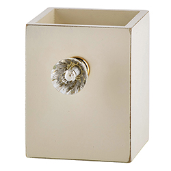 Pen Holder - Cream