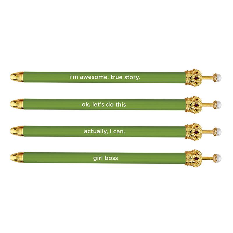 Crown Pens - Kale
