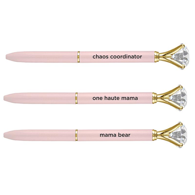 Gem Pens - Pale Pink
