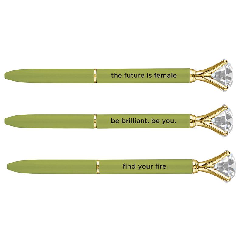 Gem Pens - Chartreuse