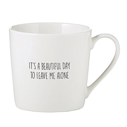 Café Mug - It's a Beautiful Day