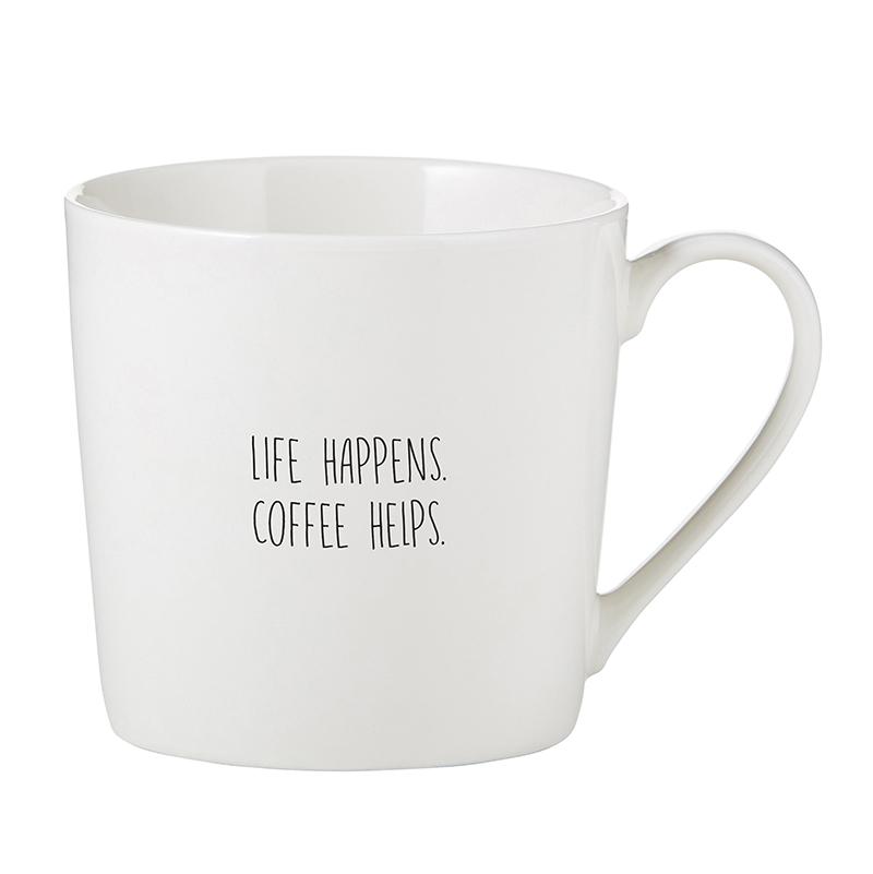 Café Mug - Life Happens