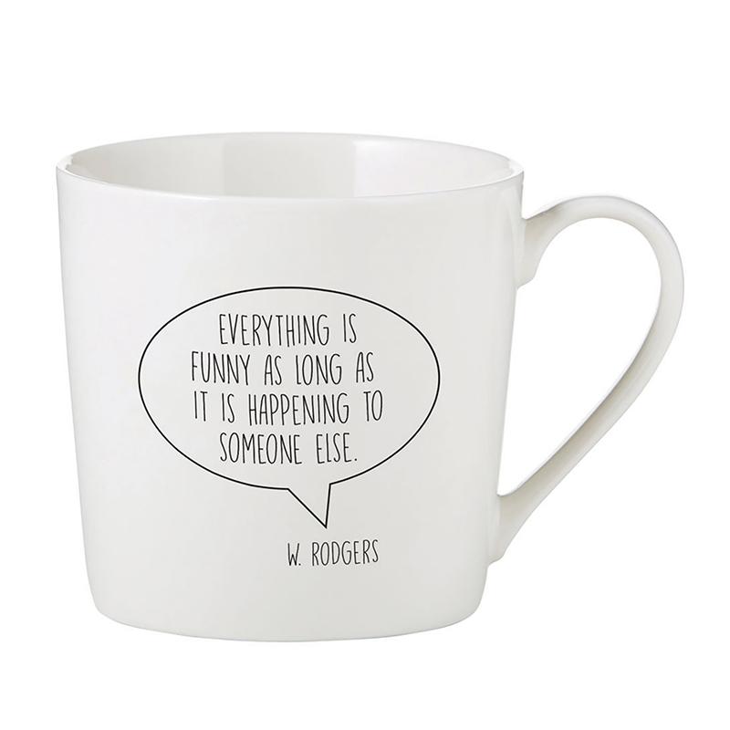 Café Mug - Everything Is Funny