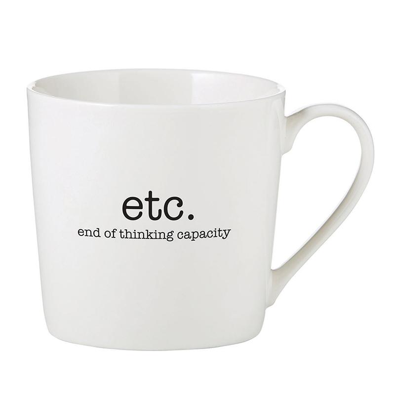 Café Mug - End of Thinking Capacity