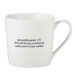Café Mug - Procaffeinated