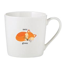 Café Mug - Zero Fox Given