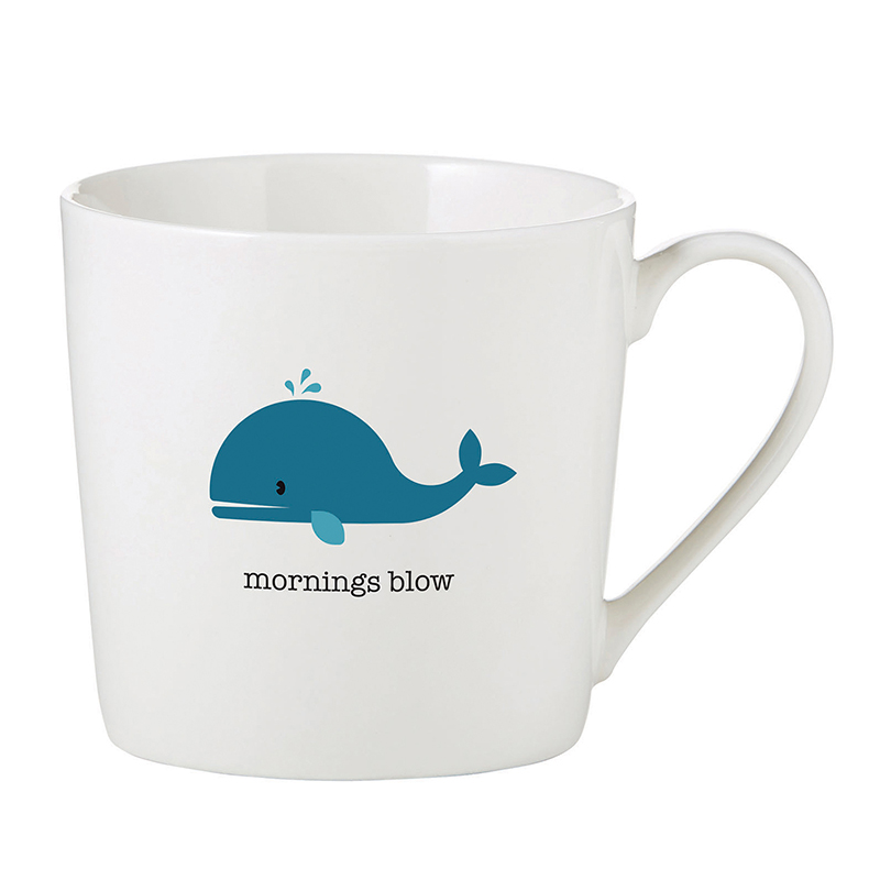 Café Mug - Mornings Blow