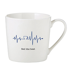 Café Mug - Feel the Beat