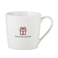 Café Mug - I'm on the Nice List