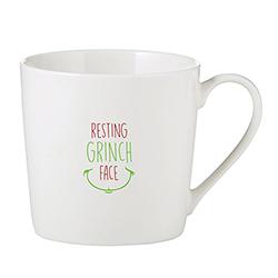 Café Mug - Resting Grinch Face