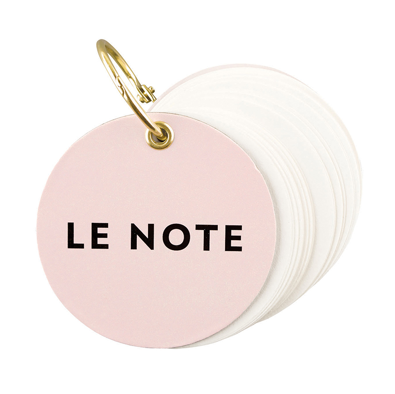Circle Notepad - Le Note