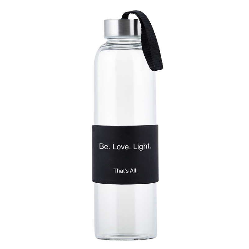 That's All® Water Bottle - Ovarian Cancer - Be.Love.Light