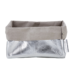 Napkin Holder - Silver/Grey