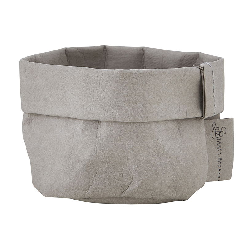 Mini Washable Paper Holder - Grey