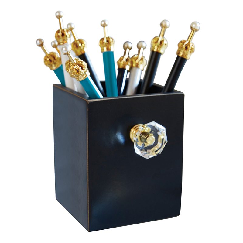 That's All® Assorted Crown Pens in Black Holder