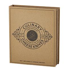 Cardboard Book Set - Cheese Knives