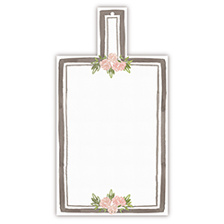 Cardboard Serving Trays - Floral