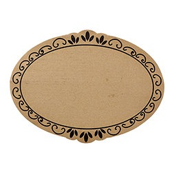 Cardboard Serving Trays - Ornate