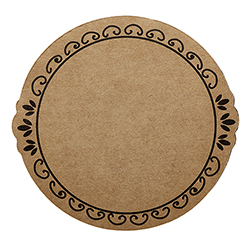 Cardboard Coasters - Ornate