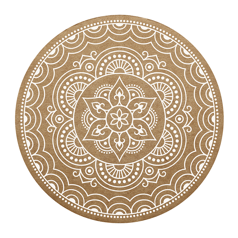 Cardboard Coasters - Mandala