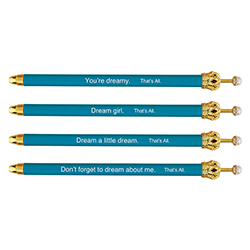 That's All® Crown Pens - Teal