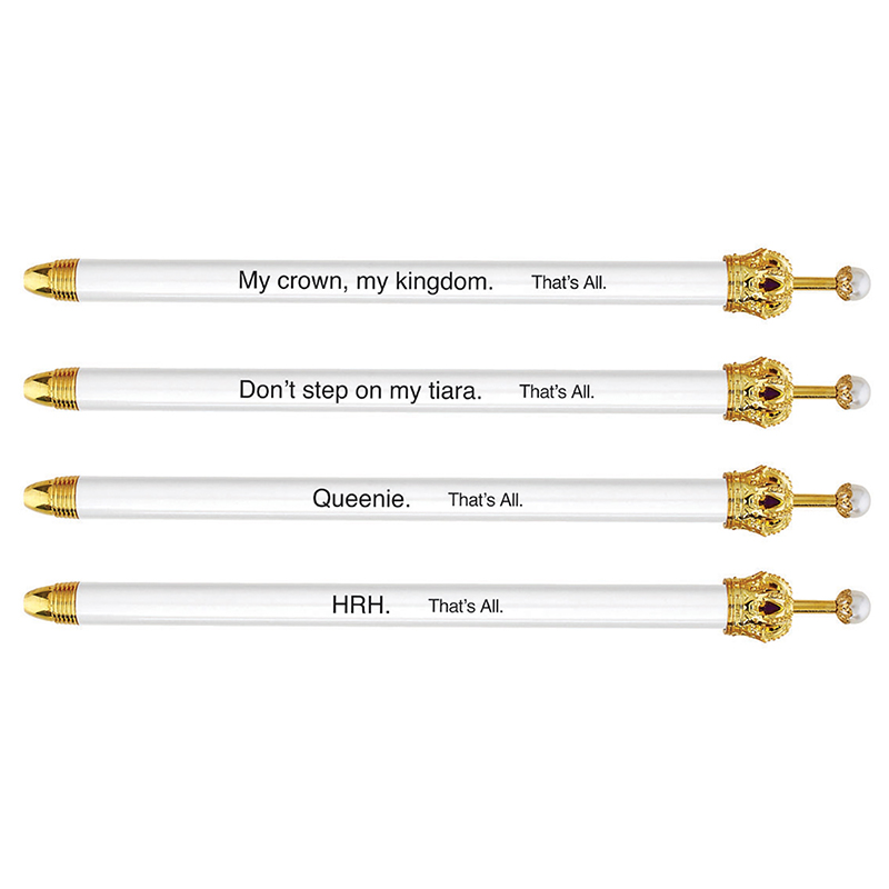 That's All® Crown Pens - White