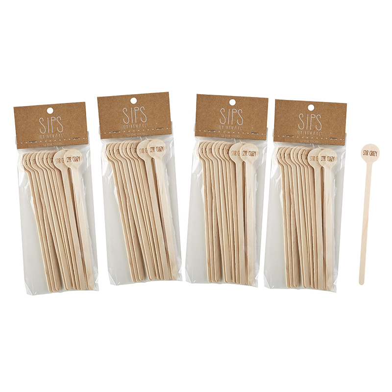 Cocktail Stir Sticks - Stir Crazy
